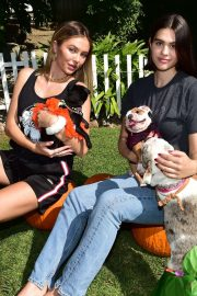 Delilah and Amelia Hamlin - Spend the afternoon volunteering with the adoptable bulldogs in Beverly Hills