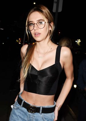 Delilah Belle Hamlin at the DL1961 Campaign Launch Party in LA