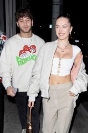Delilah Hamlin and boyfriend Eyal Booker at Catch Restaurant in West Hollywood