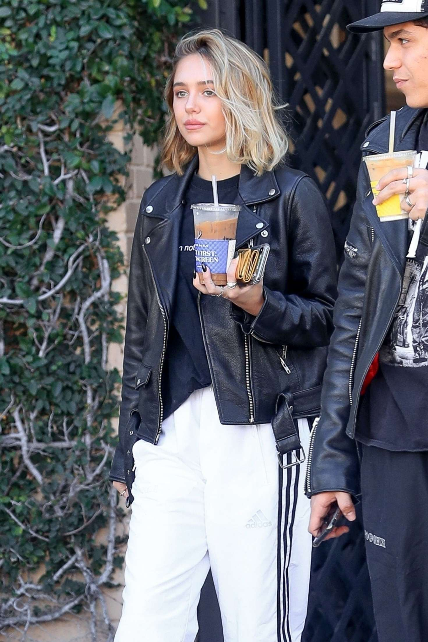 Delilah Hamlin at Alfred's in West Hollywood