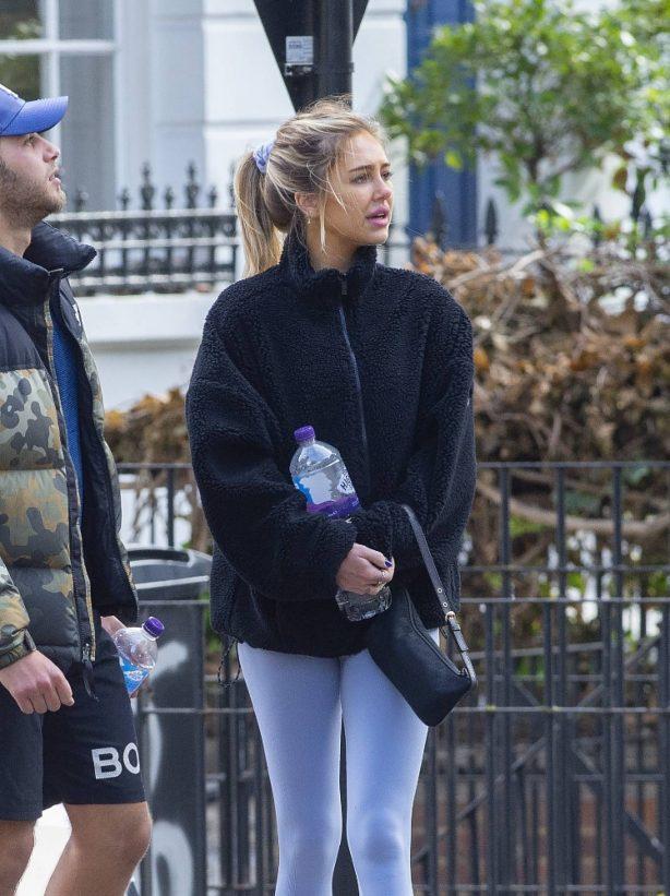 Delilah Hamlin - In leggings seen leaving Gym