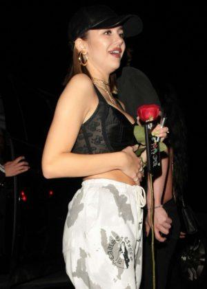 Delilah Hamlin - Leaving Poppy Nightclub in West Hollywood