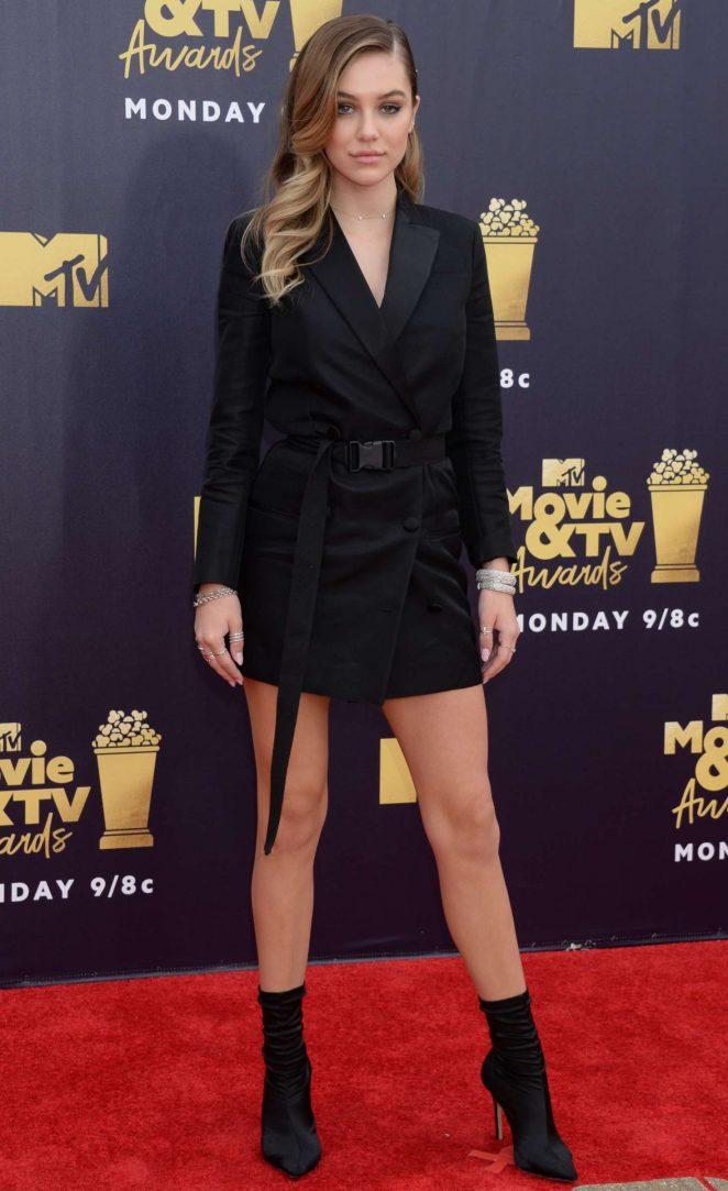 Delilah Hamlin - MTV Movie and TV Awards 2018 in Santa Monica