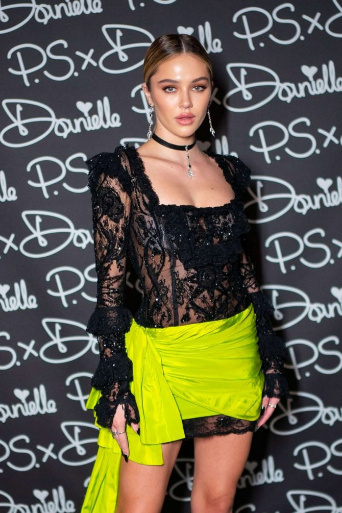 Delilah Hamlin – P.S. x Danielle Launch by Danielle Priano in NYC