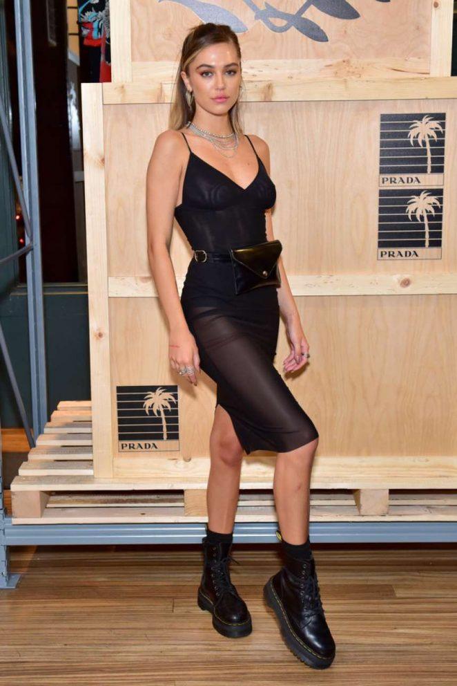 Delilah Hamlin - Prada Presents Prada Linea Rossa in NYC
