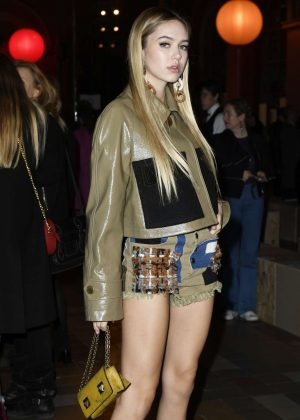 Delilah Hamlin - Sonia Rykiel Show at 2017 PFW in Paris