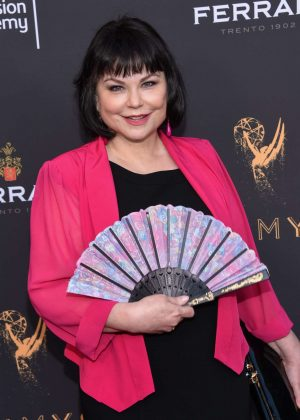 Delta Burke - Emmys Cocktail Reception in Los Angeles