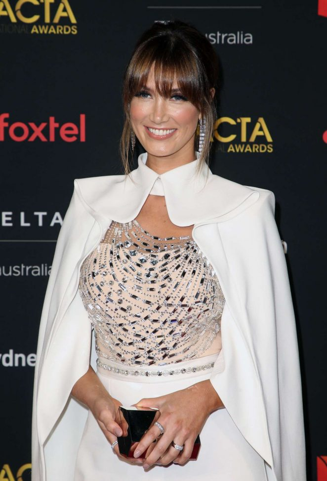 Delta Goodrem – 2018 AACTA International Awards in Los Angeles