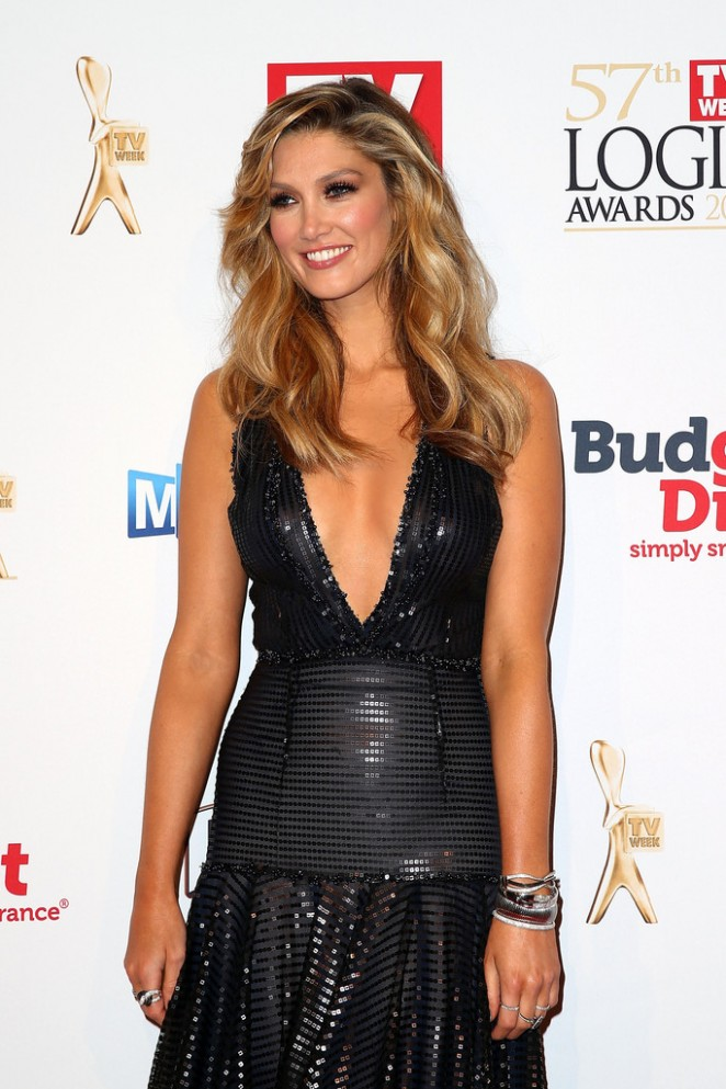 Delta Goodrem - 57th Annual Logie Awards in Melbourne