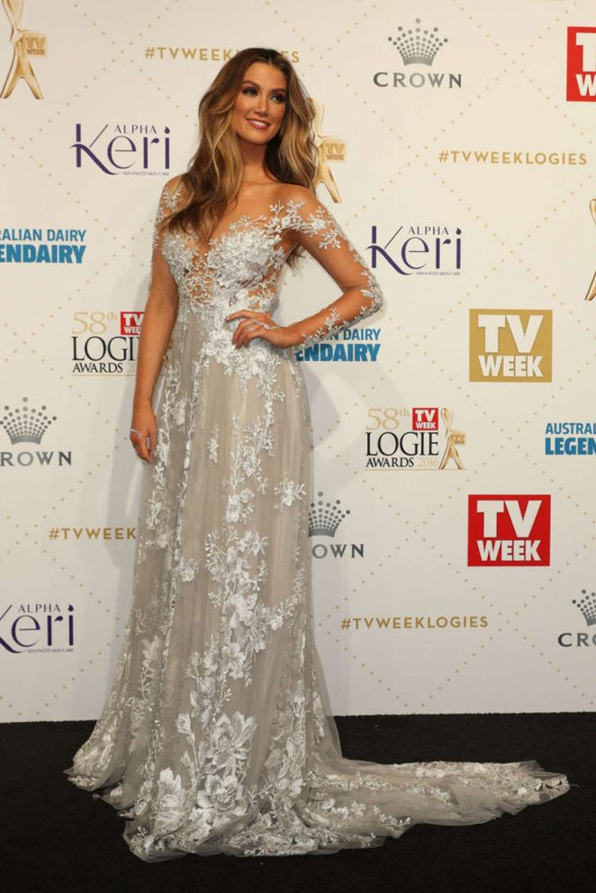Delta Goodrem - 58th Annual Logie Awards in Melbourne