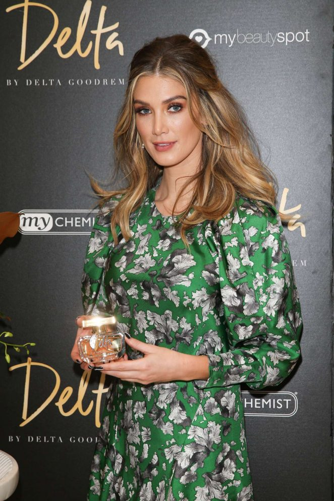 Delta Goodrem at a launch for her new perfume 'Delta' in Melbourne