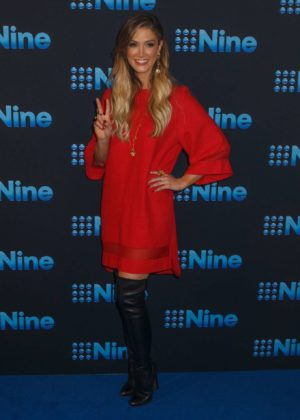 Delta Goodrem - Channel Nine Upfronts 2018 Event in Sydney