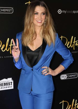 Delta Goodrem - Launch of Fragrance Delta by Delta Goodrem in Sydney