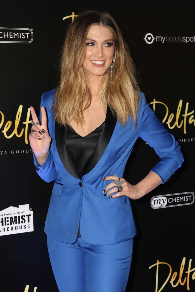 Delta Goodrem – Launch of Fragrance Delta by Delta Goodrem in Sydney