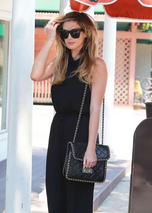 Delta Goodrem out in Los Angeles