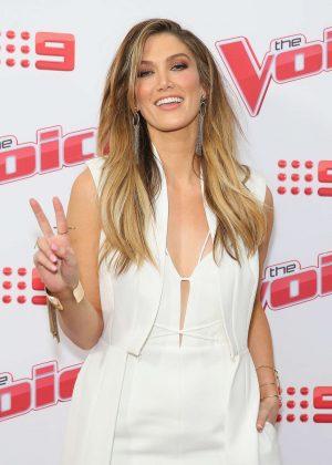 Delta Goodrem - Voice 2016 Live Show Launch in Sydney
