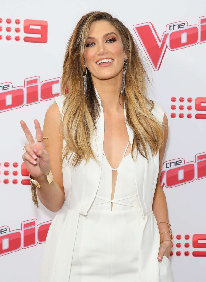 Delta Goodrem – Voice 2016 Live Show Launch in Sydney