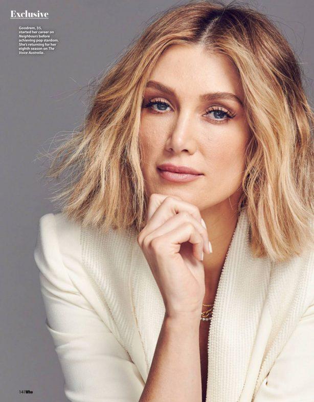 Delta Goodrem - Who Australia Magazine (June 2020)