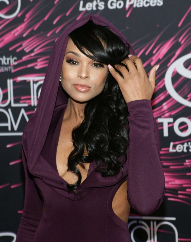 Demetria McKinney - 2015 Soul Train Music Awards in Las Vegas