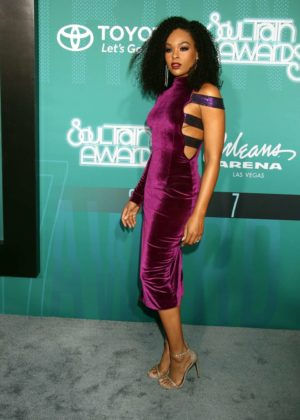 Demetria McKinney - Soul Train Awards 2017 in Las Vegas