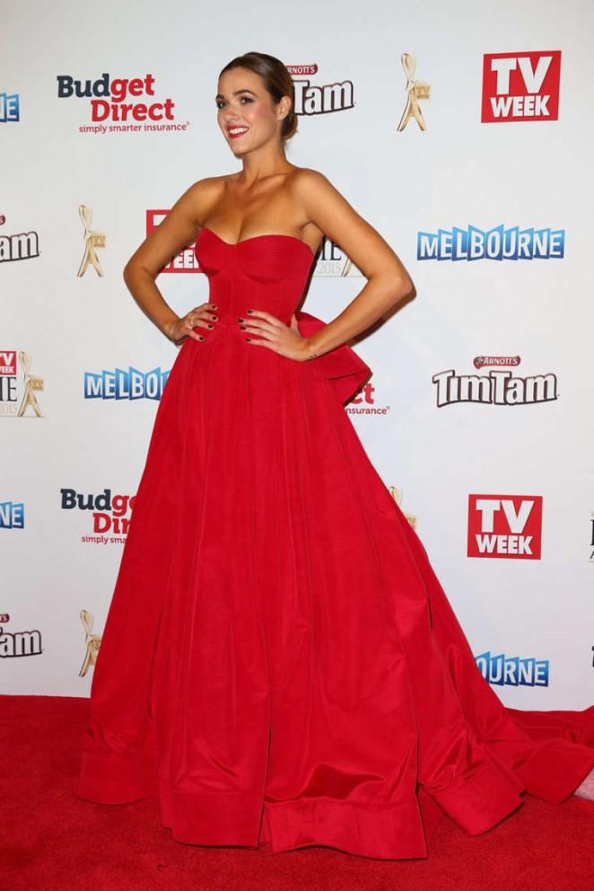 Demi Harman - 2015 Logie Awards in Melbourne