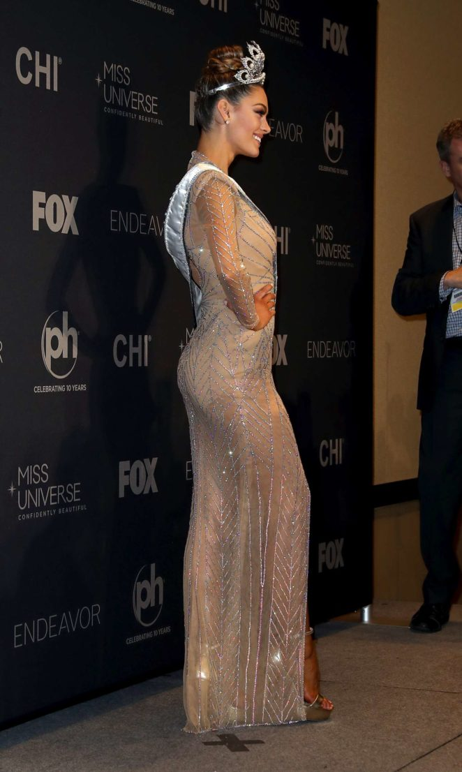 Is Demi Leigh Nel Peters White >> Demi-Leigh Nel-Peters: 2017 Miss Universe Pageant -25 - GotCeleb