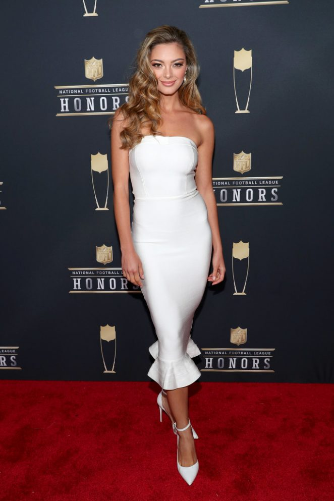 Is Demi Leigh Nel Peters White >> Demi-Leigh Nel-Peters - 2018 NFL Honors in Minneapolis