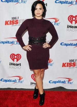 Demi Lovato - 106.1 KISS FM's Jingle Ball 2015 in Dallas