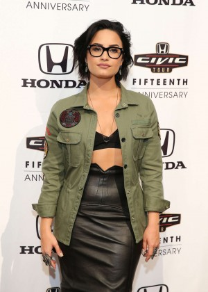 Demi Lovato - 2016 Honda Civic Tour Artists Announcement in New York