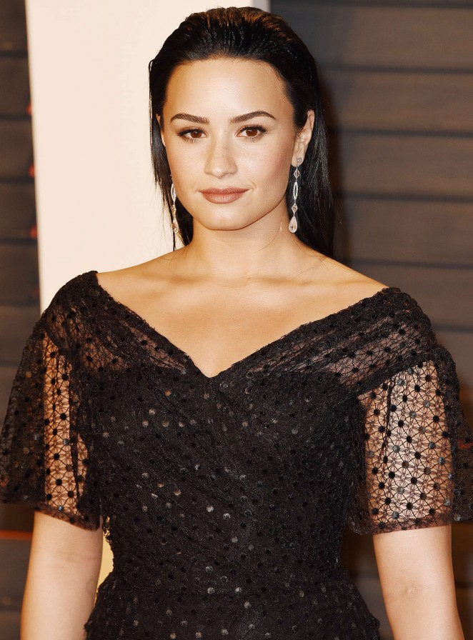 Demi Lovato - 2016 Vanity Fair Oscar Party in Beverly Hills