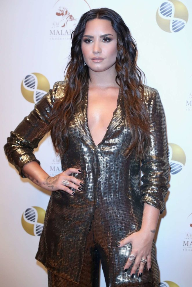 Demi Lovato - 2017 ARD Foundations A Brazilian Night to Benefit MSK in New York