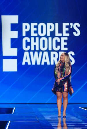 Demi Lovato - 2020 E! People's Choice Awards in Santa Monica