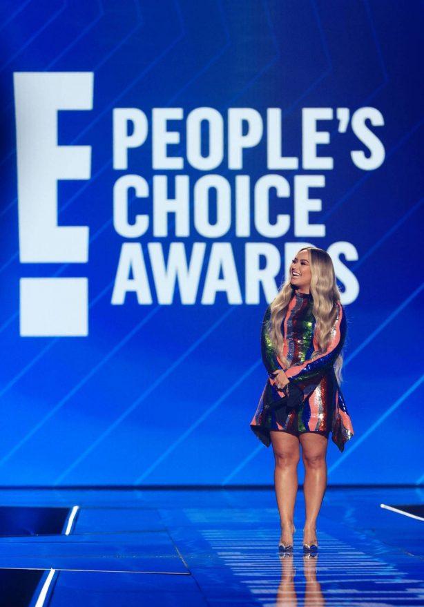 Demi Lovato - 2020 E! People's Choice Awards in Santa Monica