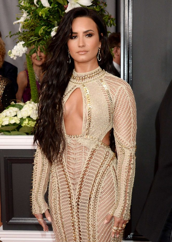 Demi Lovato Th Grammy Awards In Los Angeles