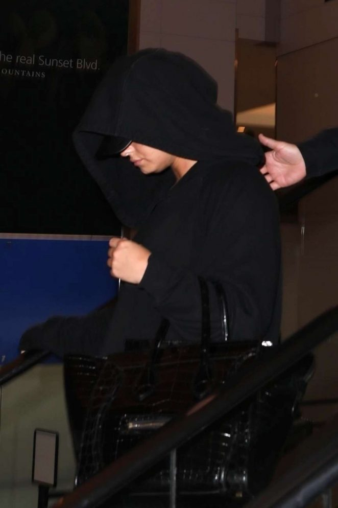 Demi Lovato – Arrives to LAX Airport in Los Angeles