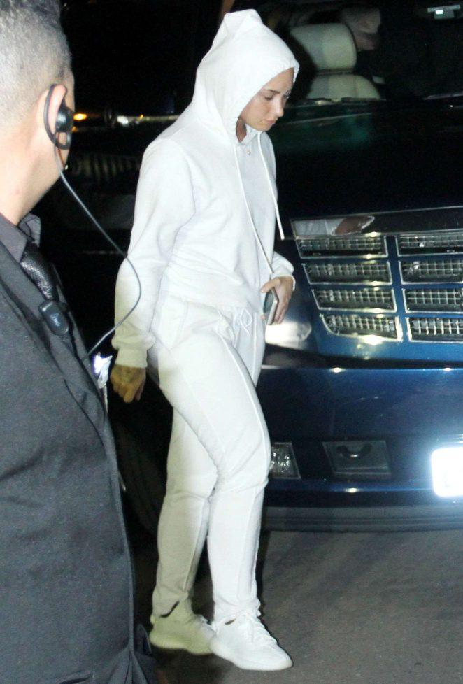 Demi Lovato: Arriving at Villa Mix Festival in Goiania -01