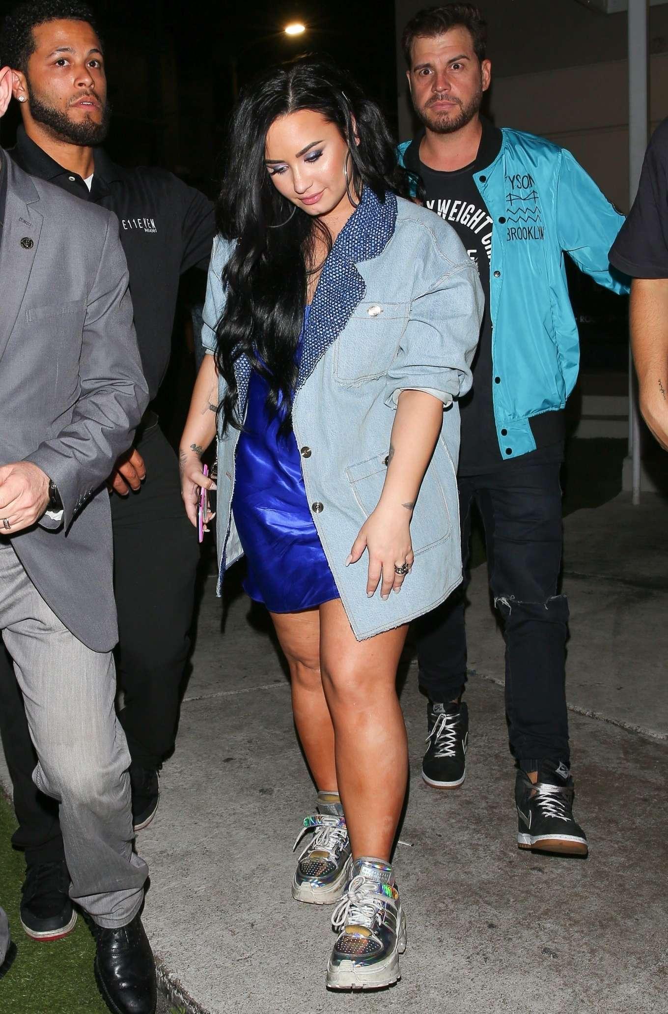 Demi Lovato 2020 : Demi Lovato at E11EVEN Nightclub in Miami-02