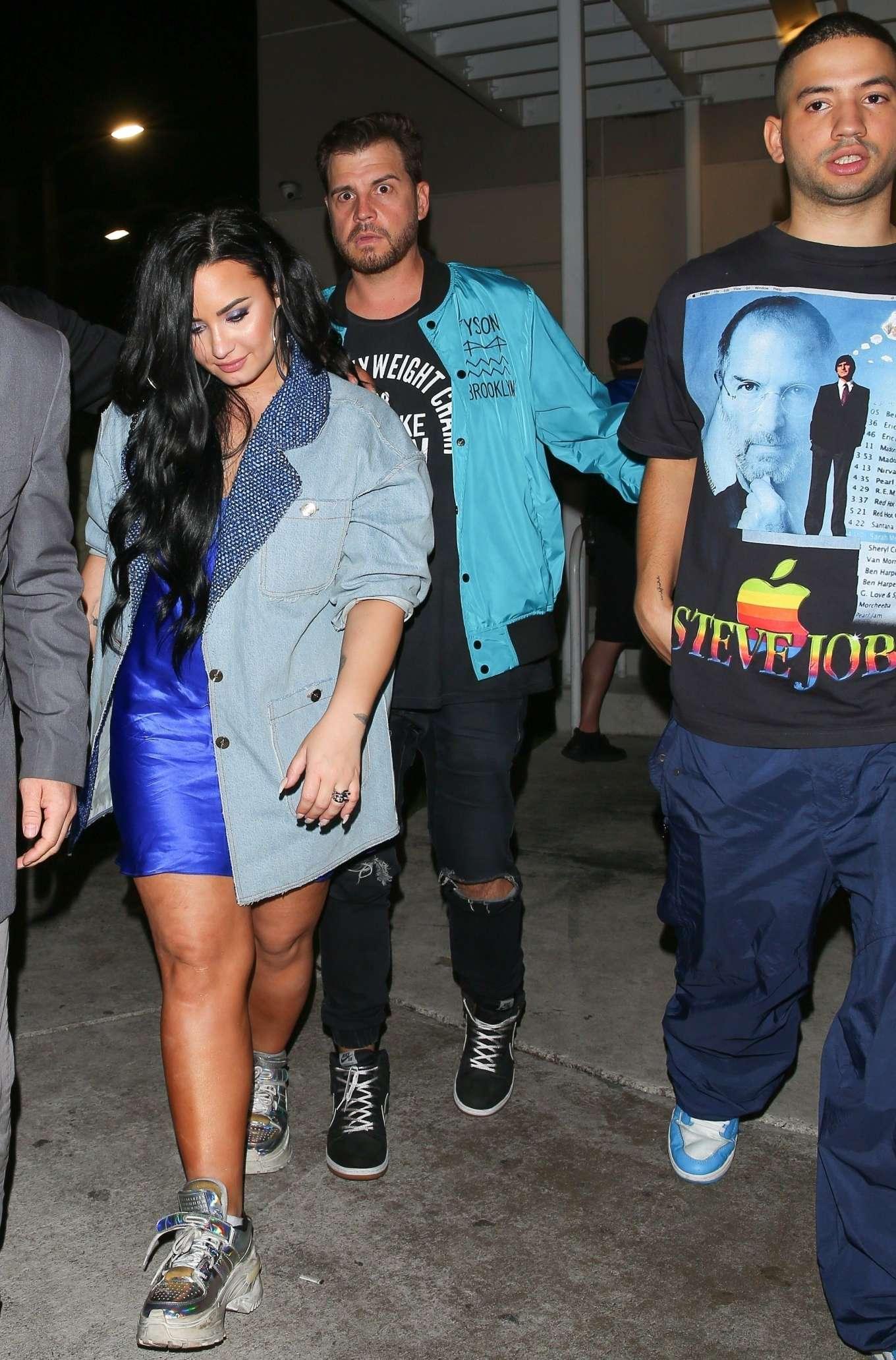 Demi Lovato 2020 : Demi Lovato at E11EVEN Nightclub in Miami-08