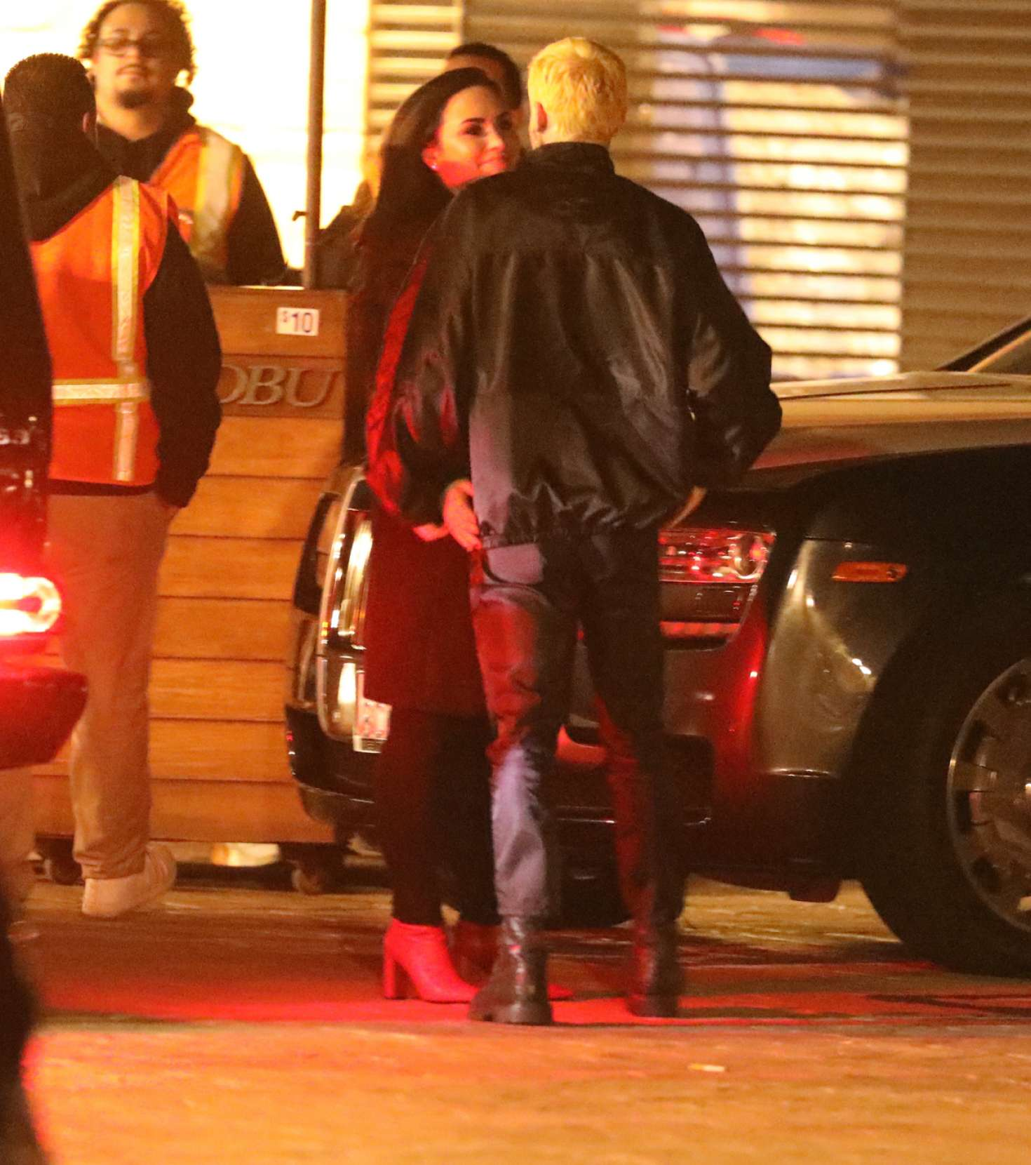 Demi Lovato at Nobu restaurant in Malibu