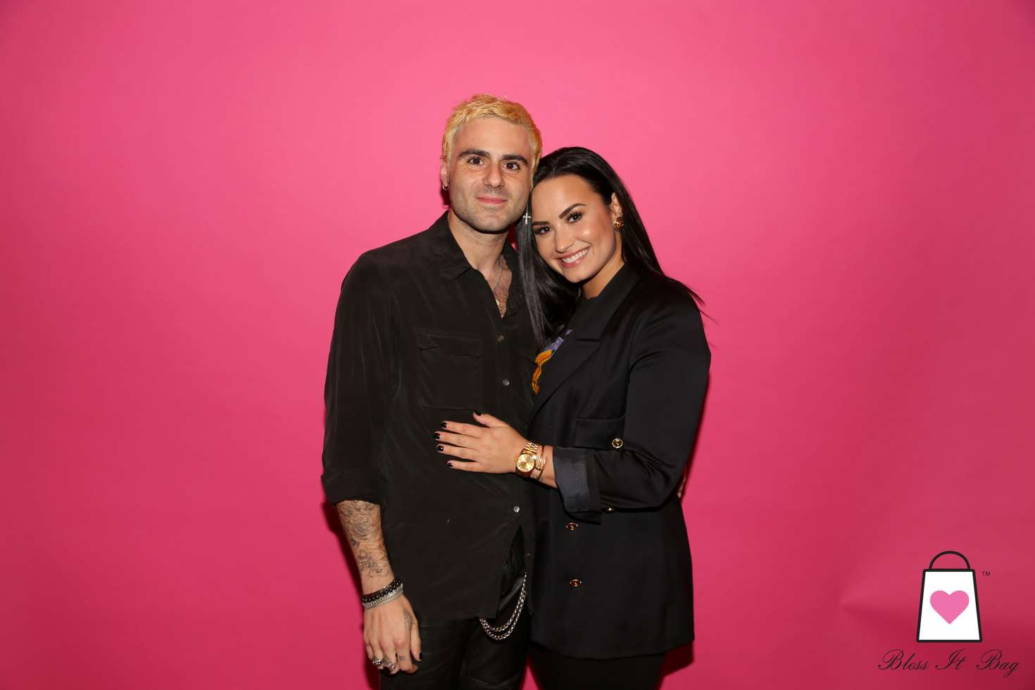 Demi Lovato - Bless It Bag Launch Party in Beverly Hills