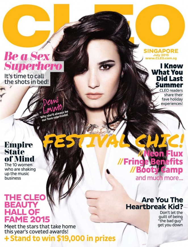 Demi Lovato - CLEO Singapore Magazine (July 2015)