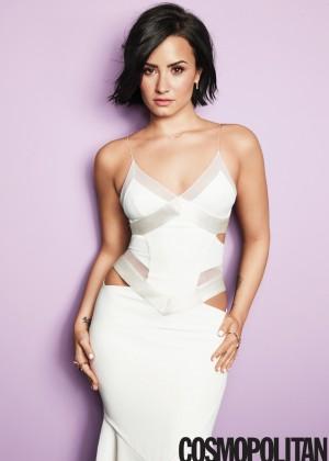 Demi Lovato: Cosmopolitan US 2015 -04