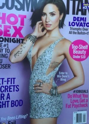 Demi Lovato - Cosmopolitan US (September 2015)