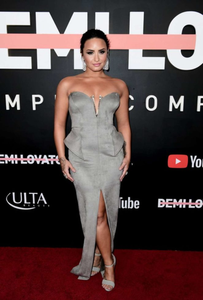 Demi Lovato - 'Demi Lovato: Simply Complicated' Youtube Premiere in LA