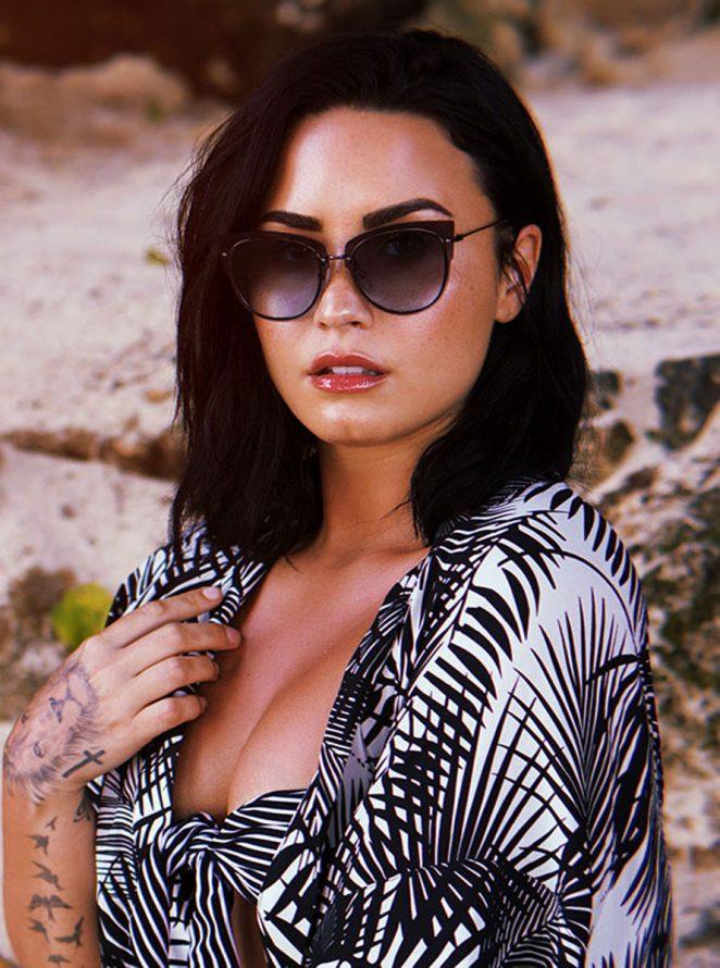 3c23325a18 Demi Lovato  DIFF Eyewear Promotion 2018-03 – GotCeleb