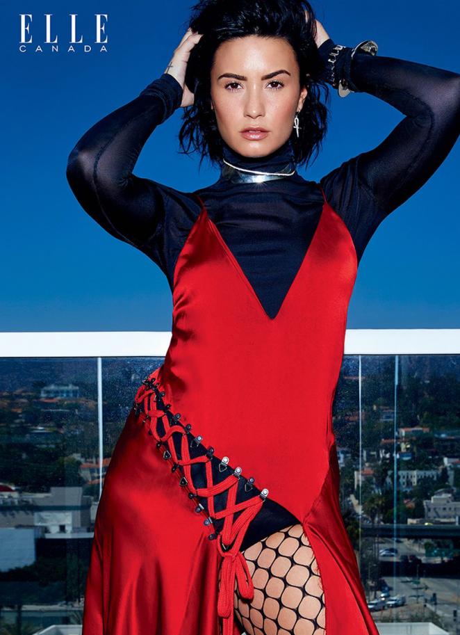 Demi Lovato – Elle Canada (September 2016)