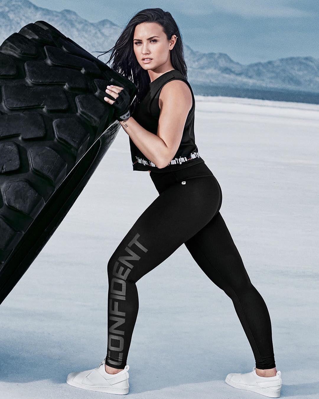 Demi Lovato: Fabletics Photoshoot 2017 -04