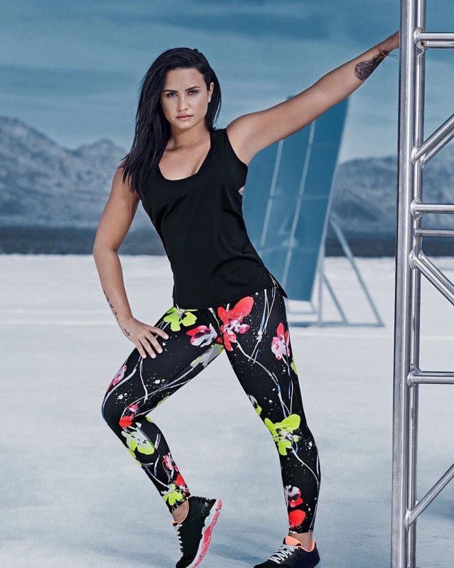 Demi Lovato: Fabletics Photoshoot 2017 -06 - GotCeleb