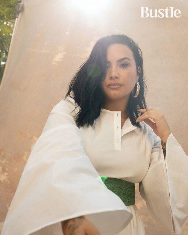 Demi Lovato for Bustle (July 2020)