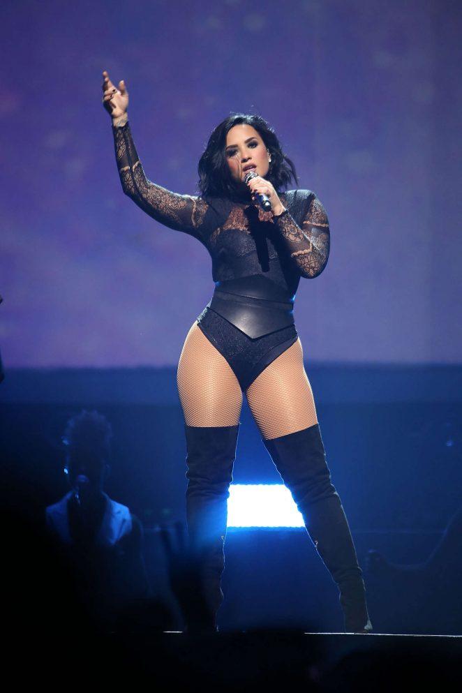 Demi Lovato - 'Future Now' Tour at Prudential Center in Newark